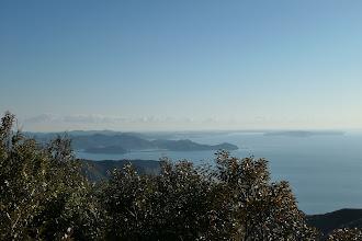 山頂からの展望3(伊勢志摩方面)