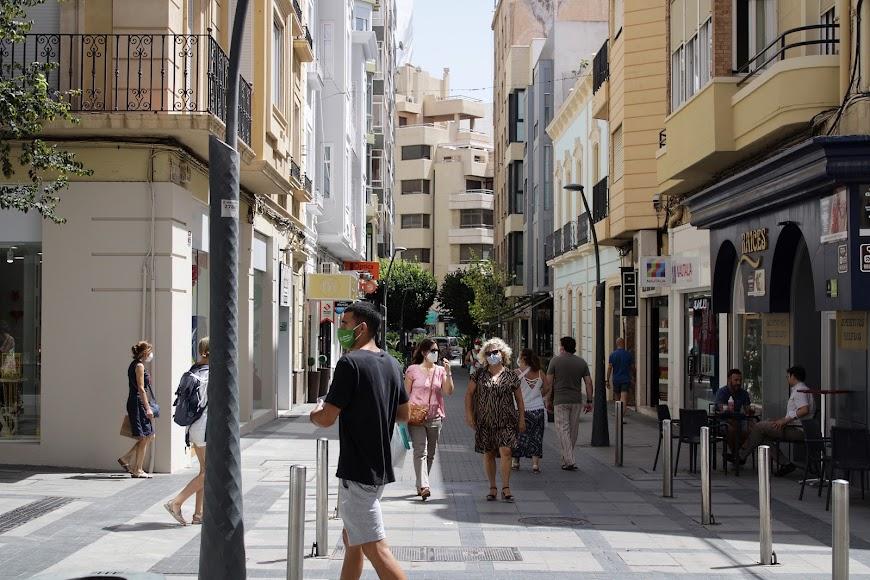Calle peatonal de Méndez Núñez.