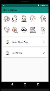 Onion Sticker for Whatsapp - WAStickerApps
