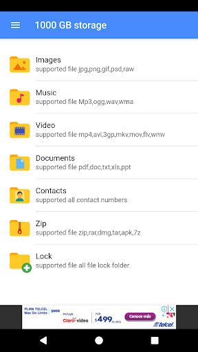 1000 GB Cloud Memory Card 2.0.2 screenshots 2