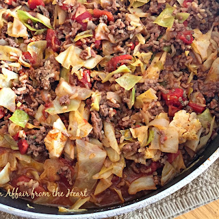 UnStuffed Cabbage Roll Skillet.