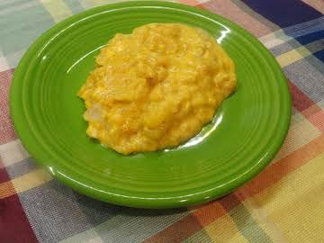 Crock Pot Cheesy Hash Brown Casserole