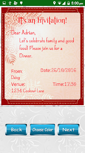 Party invitation card designer android apps on google play party invitation card designer screenshot thumbnail stopboris Image collections
