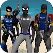 Super Police Heroes: City Supermarket Rescue
