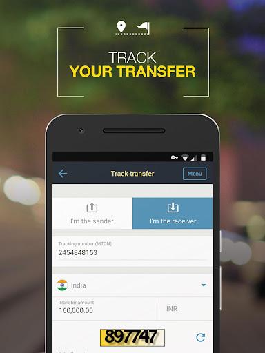 Western Union ZA - Send Money Transfers Quickly Applications (apk) téléchargement gratuit pour Android/PC/Windows screenshot