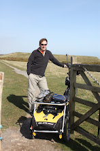 Photo: Day 5 - Rog on the Cinder Path in to Dover