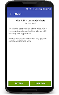 Kids ABC - Learn Alphabets- screenshot thumbnail