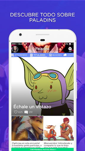 Campeu00f3n Amino para Paladins en Espau00f1ol  screenshots 1