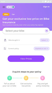 Acko - Car and Bike Insurance App Ranking and Store Data