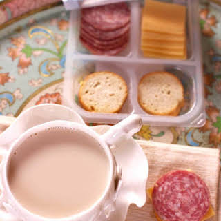 Cinnamon-Star Anise Tea Latte.