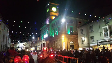 Lights go on in Welshpool
