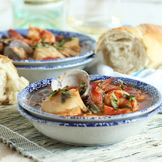 Easy Shellfish Cioppino