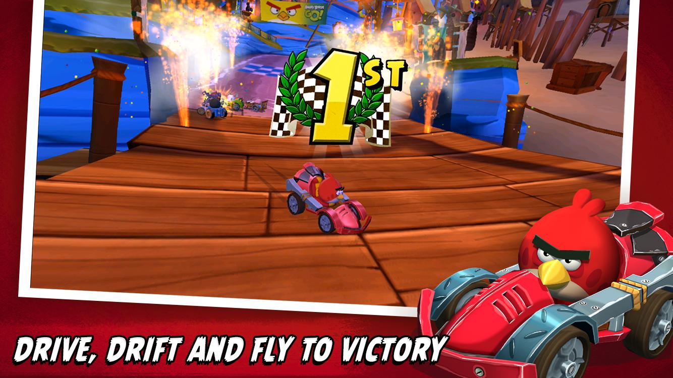 Angry Birds Go! screenshot #2