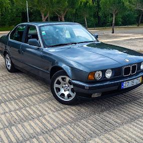 BMW E34 524 TDS by Edu Marques - Transportation Automobiles ( e34, bmw e34, bmw, 524 tds, car cars, tds,  )