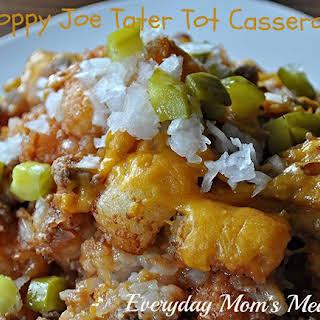 Sloppy Joe Tater Tot Casserole.