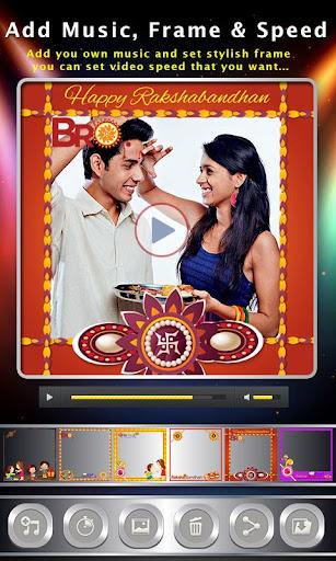 Rakhi Photo Video Maker & Rakhi Movie Maker 1.14 screenshots 4