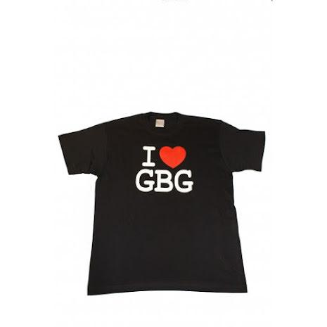T-Shirt - I Love GBG