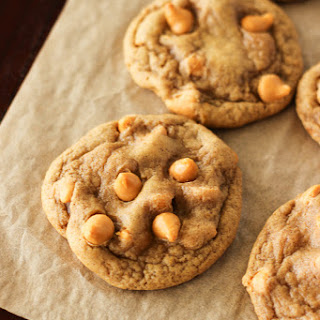 Pumpkin Butterscotch Chip Cookies