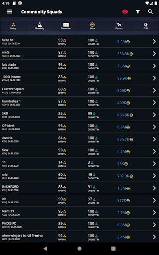 FUTBIN - FUT 21 Database & Draft screenshots 4
