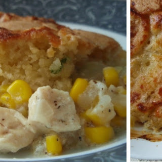Gluten Free Chicken and Corn Cobbler