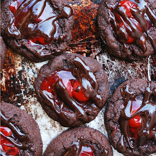 Cherry Chocolate Thumbprint Cookies (GF, DF, Egg, Soy, Peanut, Tree nut Free, Top 8 Free, Vegan)