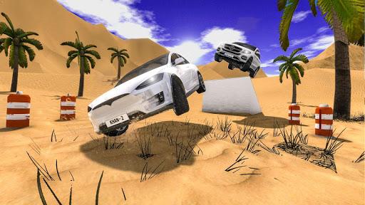 4X4 SUV Desert Jeep Driving Stunts Adventure 2018 screenshot 4