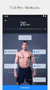 Runtastic Results Bodyweight & Krafttraining Screenshot