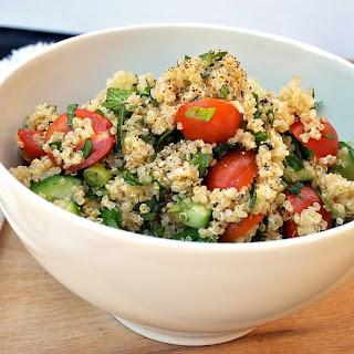 Flavorful and Fresh Quinoa Tabbouleh Recipe