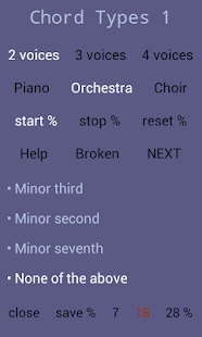 Recognize Chord Types by Ear 1- screenshot thumbnail