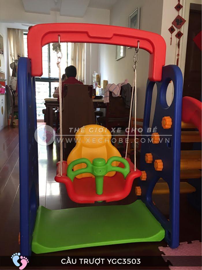 Cầu trượt trẻ em đa năng YGC-3503 5