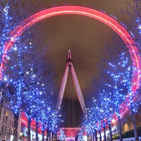 London Eye by Andy Pitt - Travel Locations Landmarks