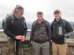 Photo: Morgan and Adam brightened our day!  Fun to share The Pinnacle hike with them!