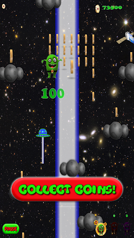 android Alien Jump Free Screenshot 1