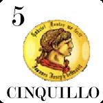 Cinquillo Original Icon
