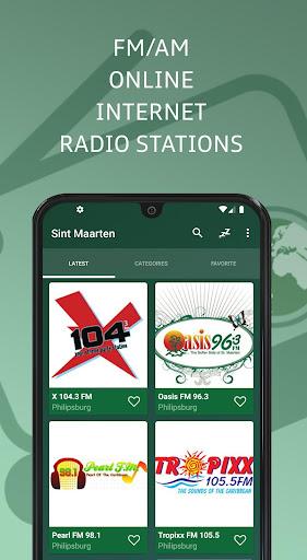 Sint Maarten Online Radio Stations screenshots 1
