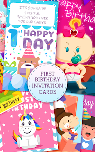 First Birthday Invitation Cards Apk 1 0 Download Free