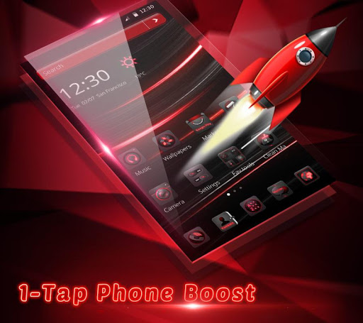 Dark Red Launcher 5.31.10 screenshots 5