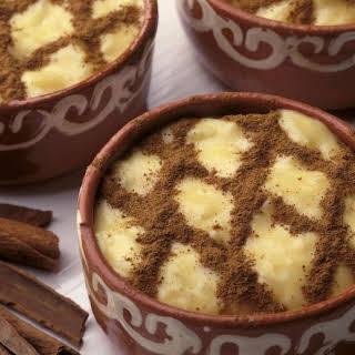 Portuguese Rice Pudding.