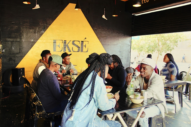 Eksé has a very chilled vibe, perfect for slow lazy lunches.
