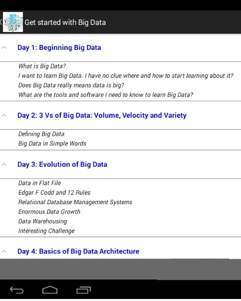 Get Started with Big Data- screenshot