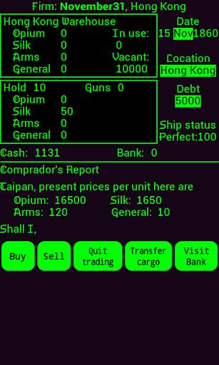 Taipan screenshot 2