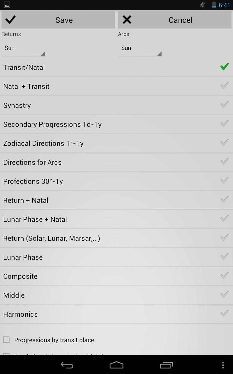 Astrological Charts Pro Screenshot 10