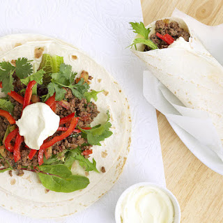 Spicy Beef Burritos