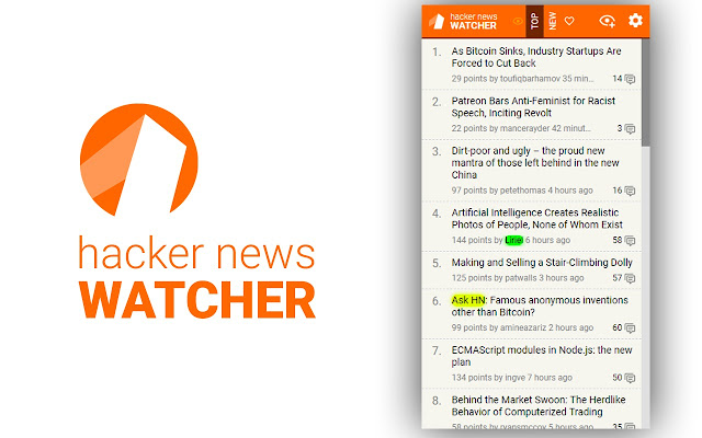 Hacker News Watcher
