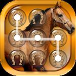Horse Pattern Lock Screen Icon