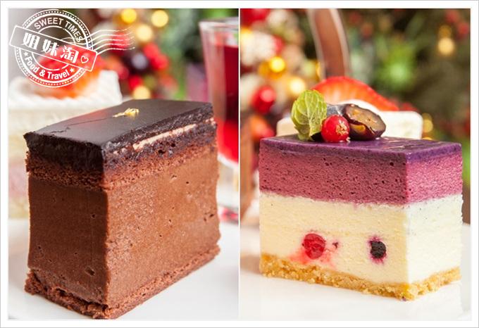 Chic Pastry奇可烘焙菜單巧克力蛋糕藍莓白酒蛋糕