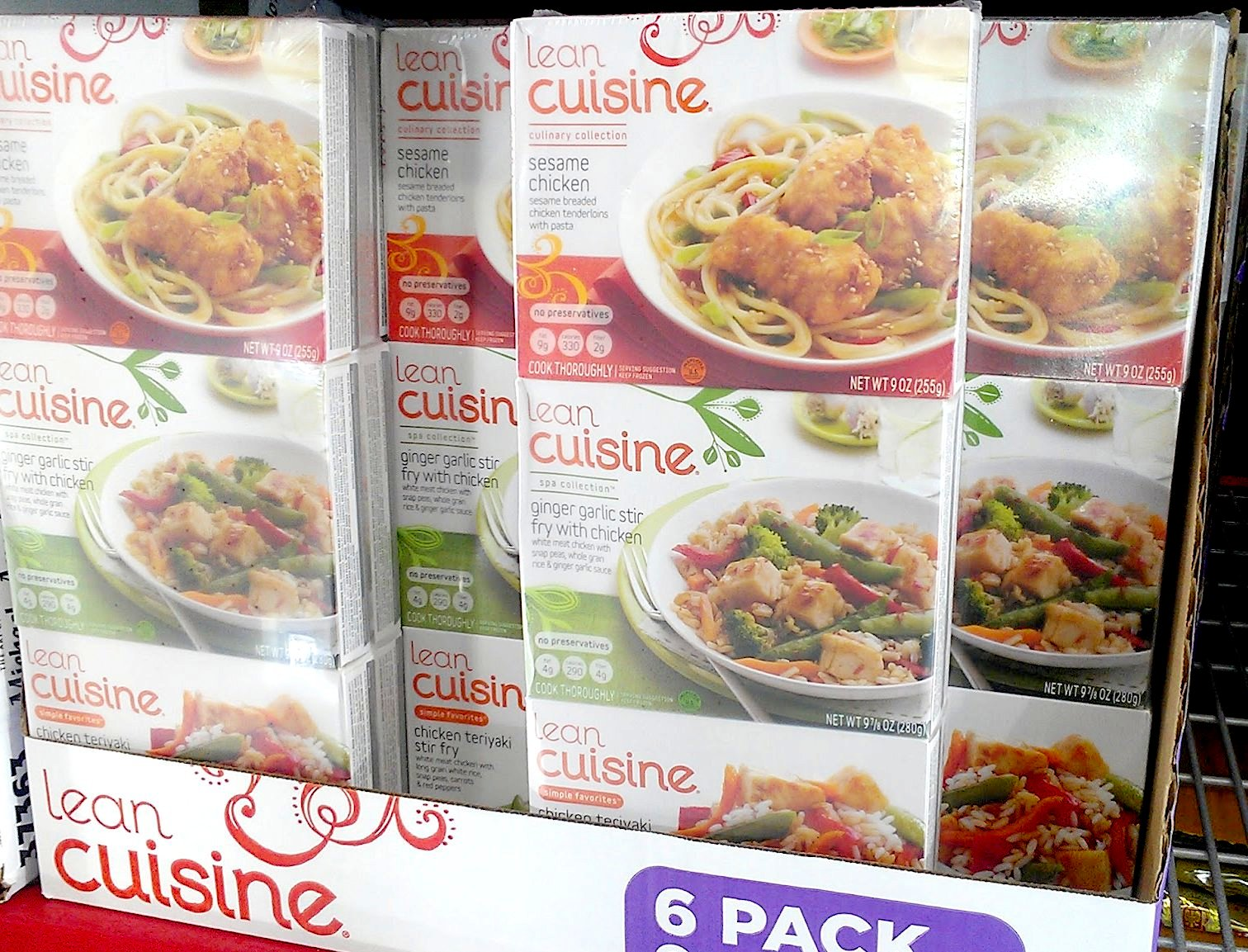 Photo: The Lean Cuisine flavors available right now at Sam's Club are Asian inspired.