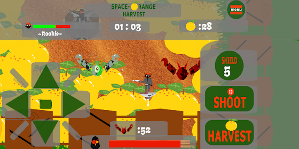 Space – Orange Harvest 1000XP Portable 4