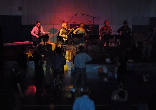 Photo: Band #1 under cool lighting