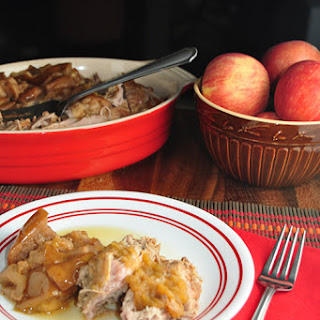 Autumn Apple Pork Roast.